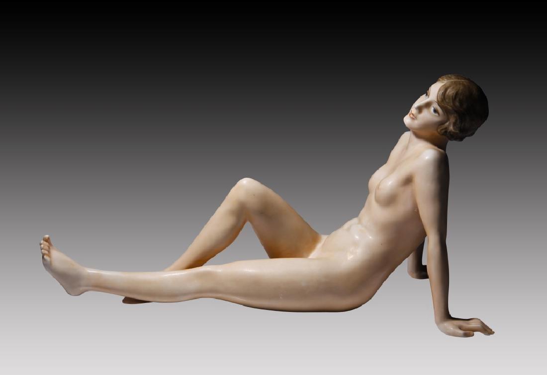 Rosenthal Reclining Nude Woman - 6