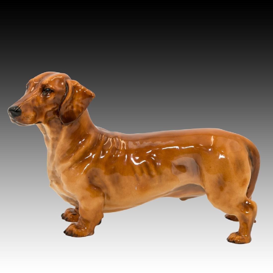 Royal Doulton Dachshund Standing Dog HN1139