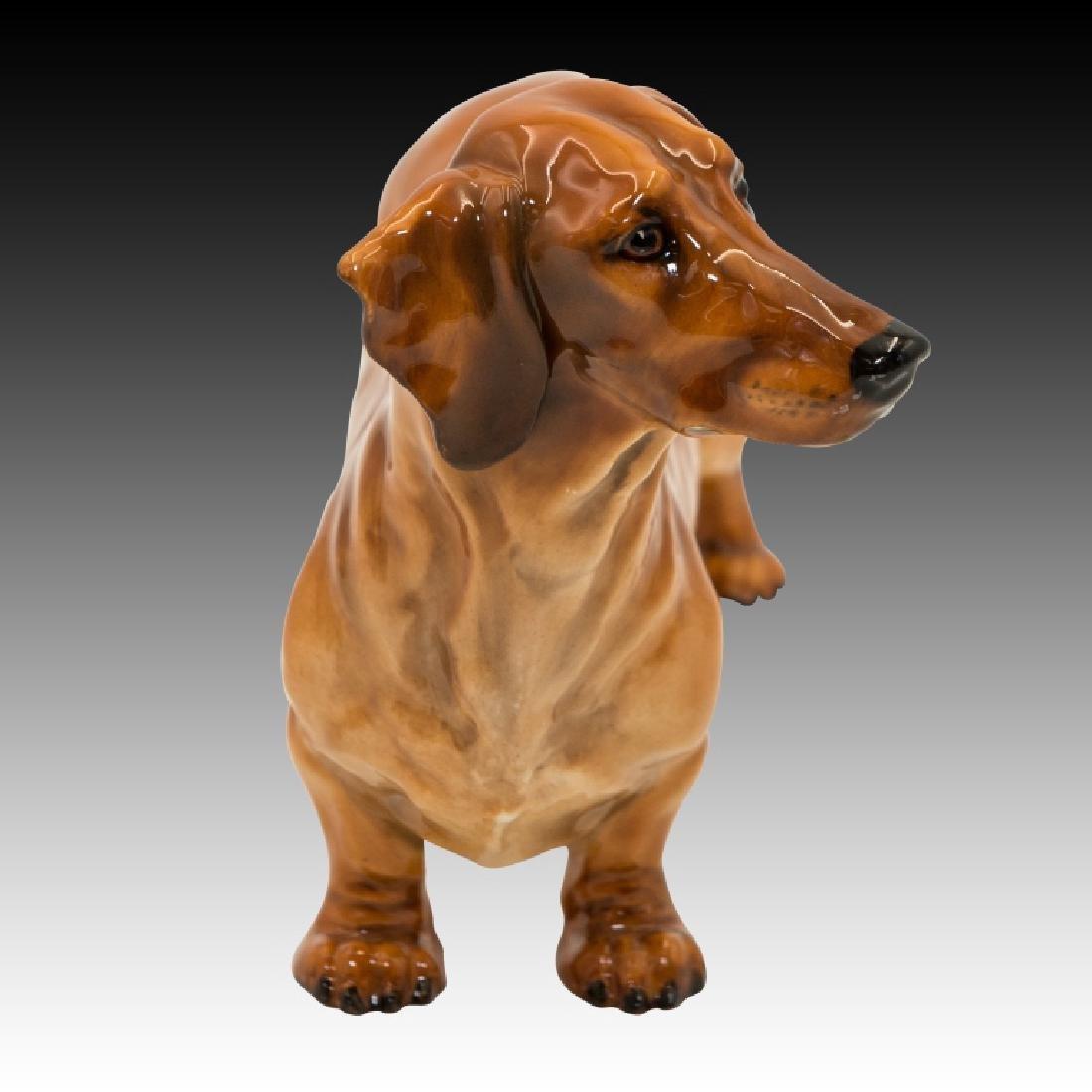 Royal Doulton Dachshund Standing Dog HN1139 - 4