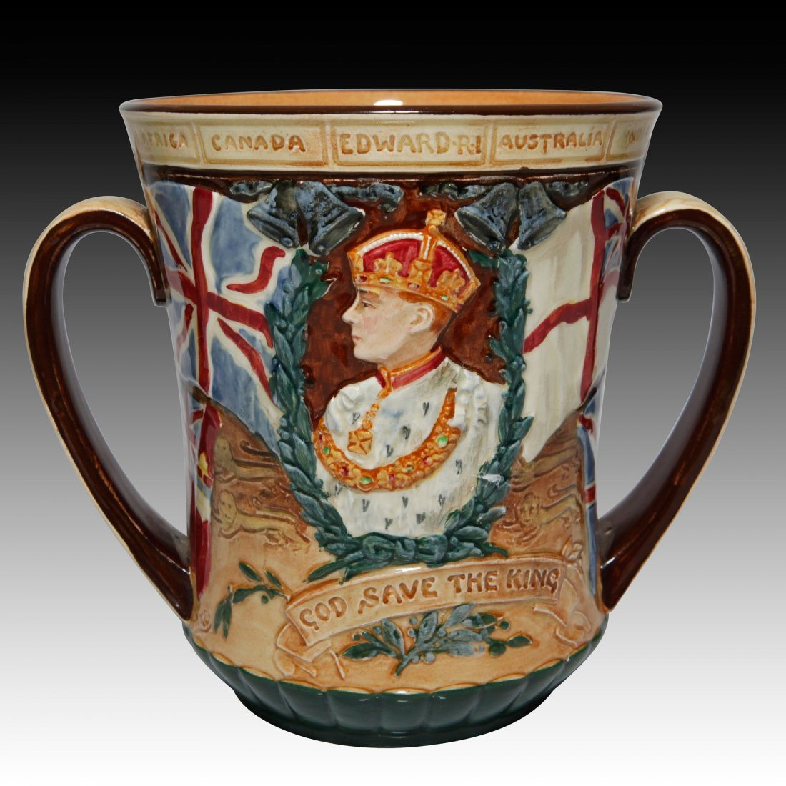 Royal Doulton Loving Cup King Edward Vlll