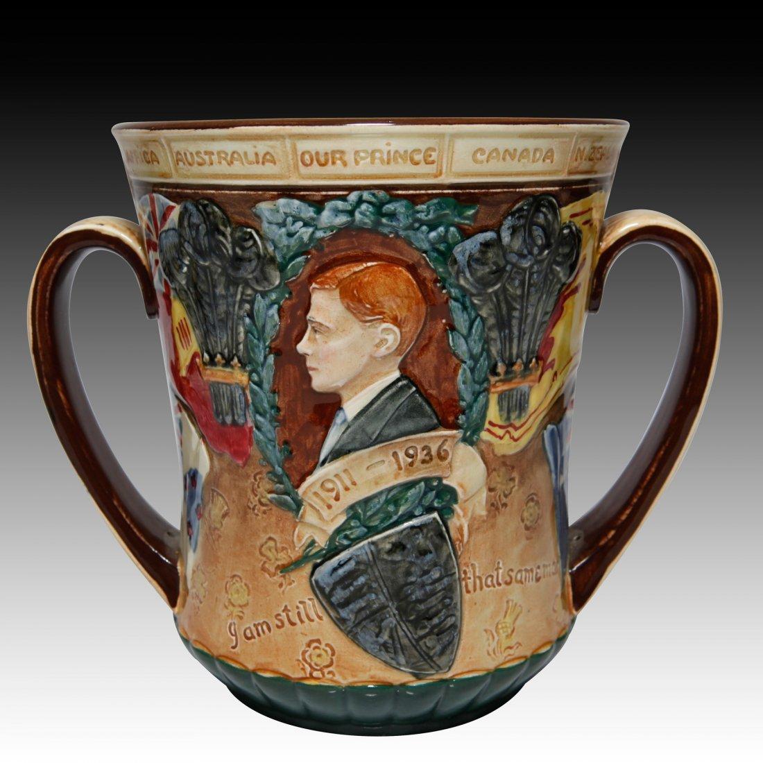 Royal Doulton Loving Cup King Edward Vlll - 2