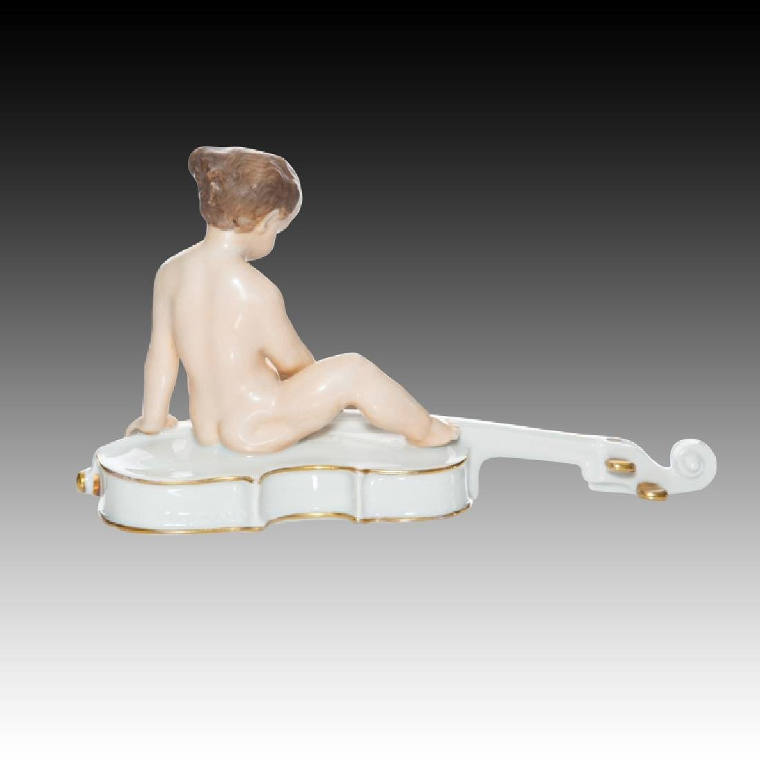 Rosenthal Child Sitting on a Cello - 3