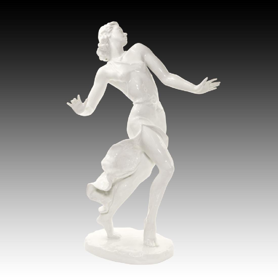 Rosenthal Large Dancing Woman Figurine