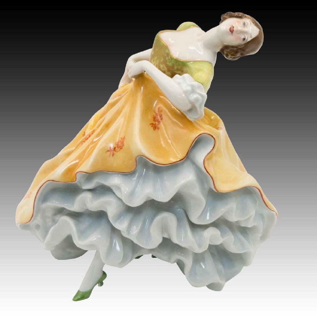 Rosenthal Rococo Figure of Girl Dancing - 2