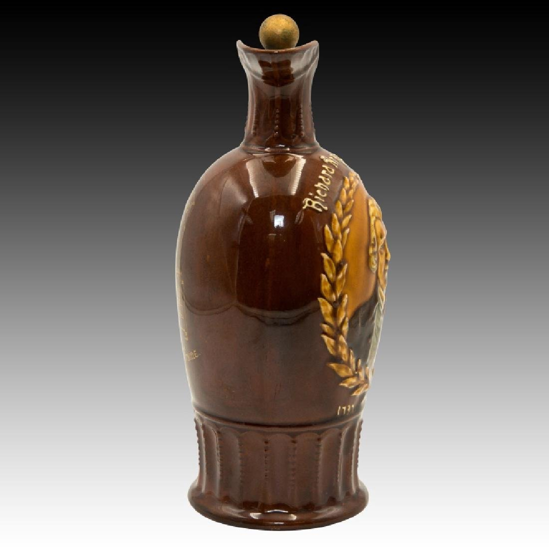 Doulton Kingsware Dewar's Richard Arkwright Flask - 2