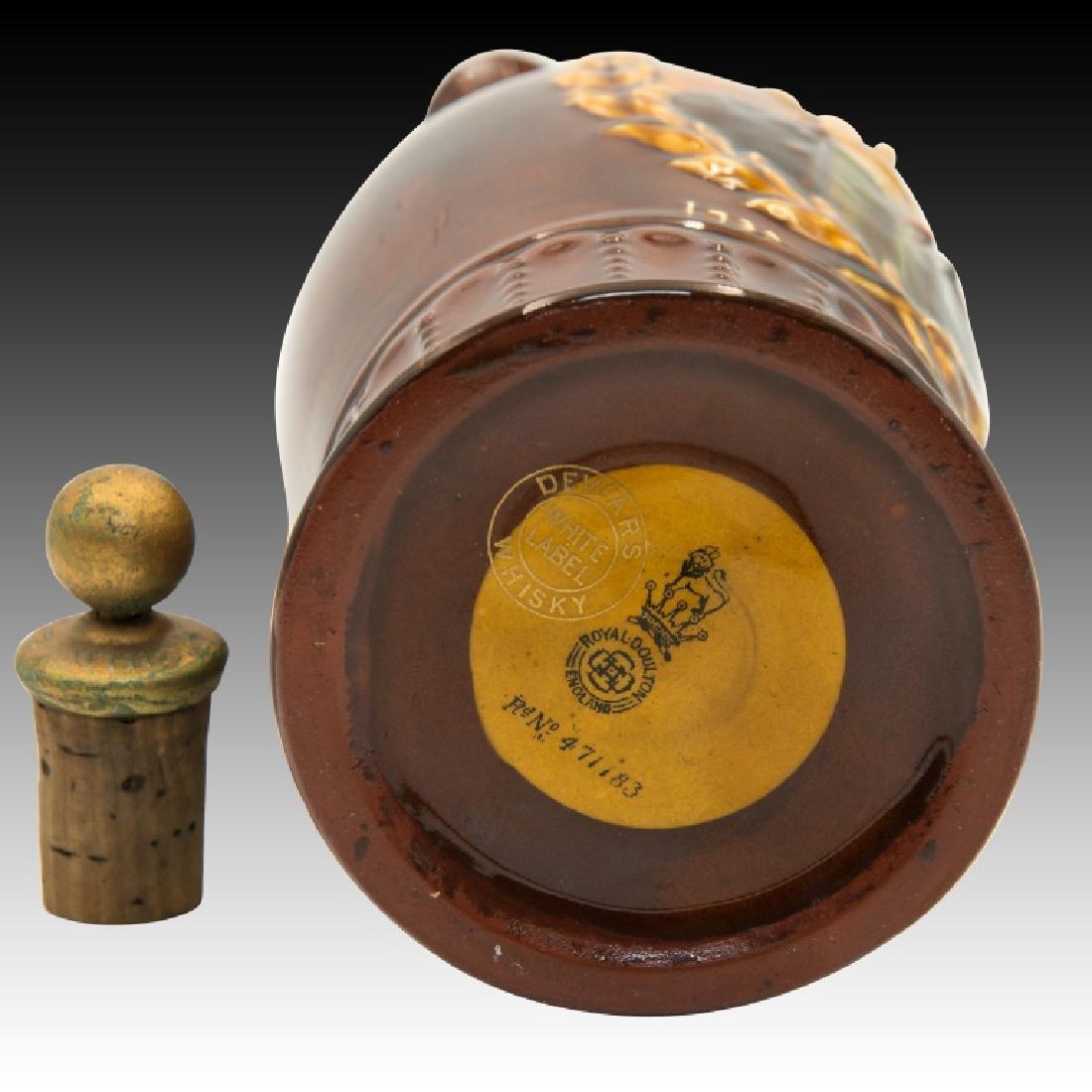 Doulton Kingsware Dewar's Richard Arkwright Flask - 6
