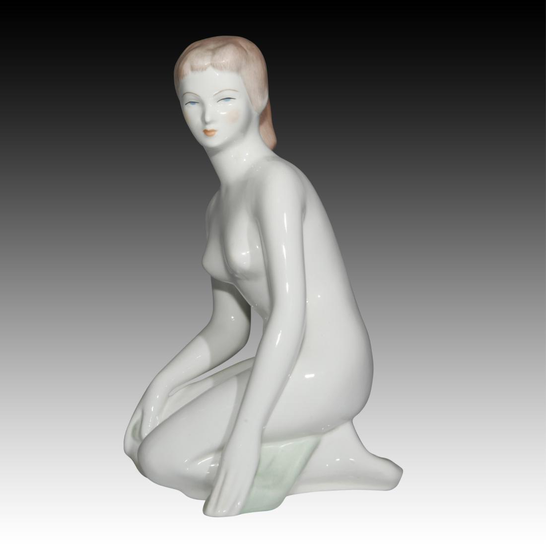 Budapest Aquincum Nude Female Figurine