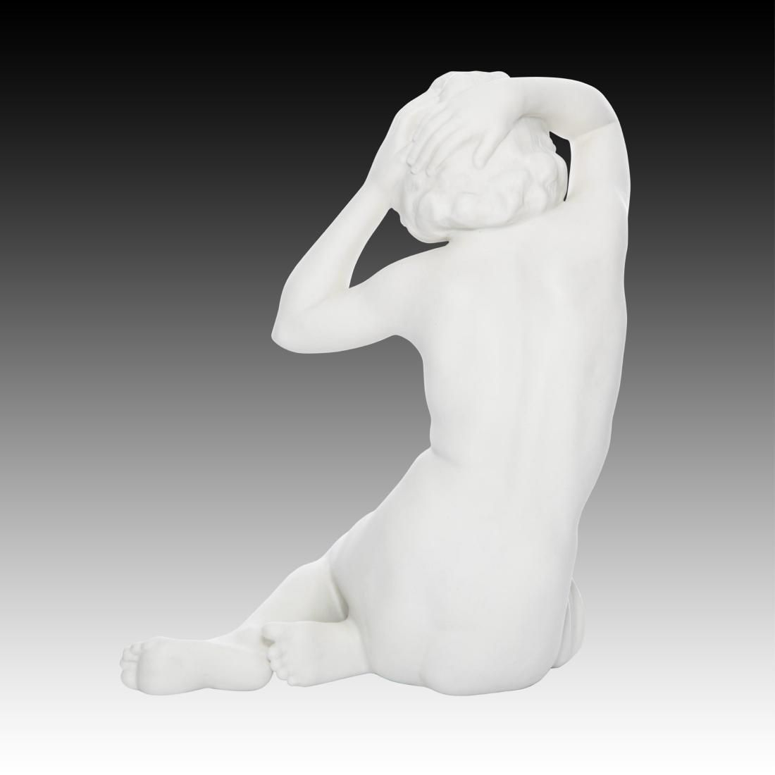 Hutschenreuther Bisque Nude Woman Figurine - 2