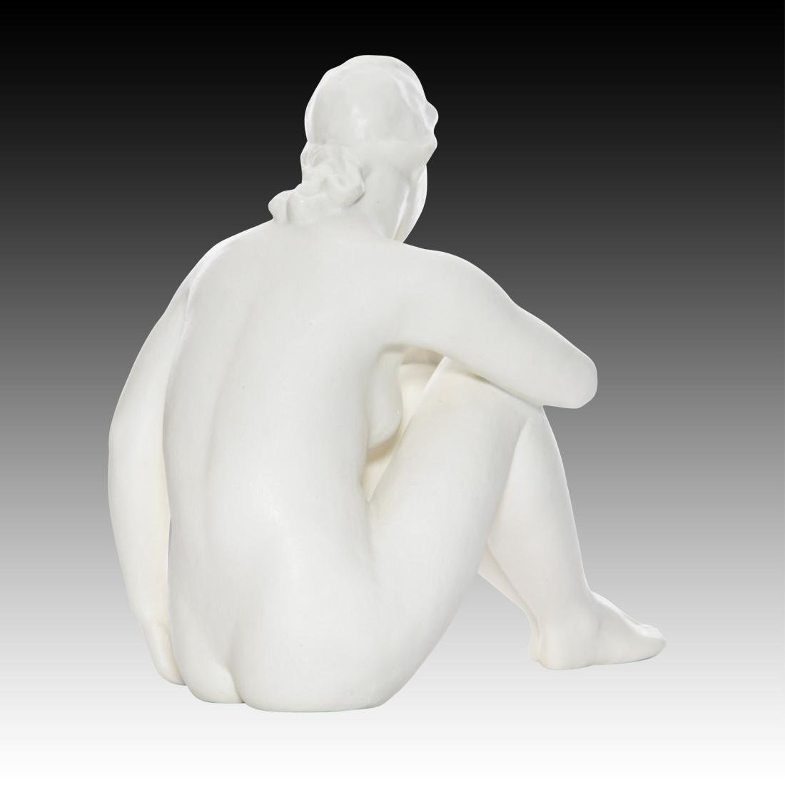 Rosenthal Young Nude Seated Woman - 2