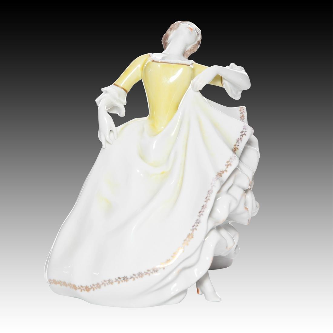 Rosenthal Rococo Female Dancer Figurine - 2