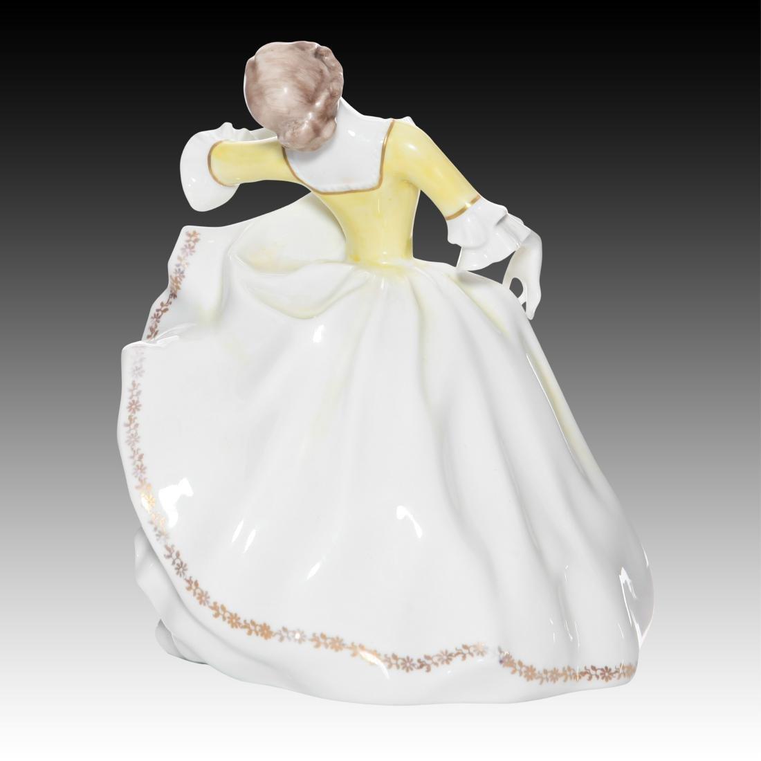 Rosenthal Rococo Female Dancer Figurine - 3