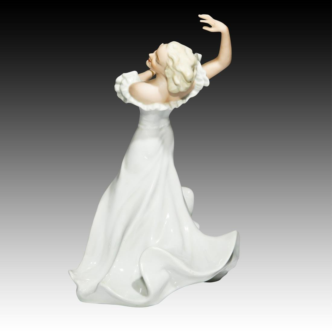 Wallendorf Female Art Deco Dancing Figurine - 2