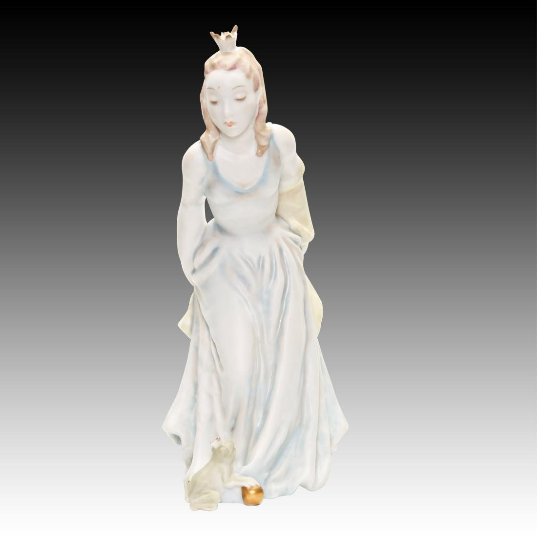 Rosenthal Figurine Princess and the Frog #1