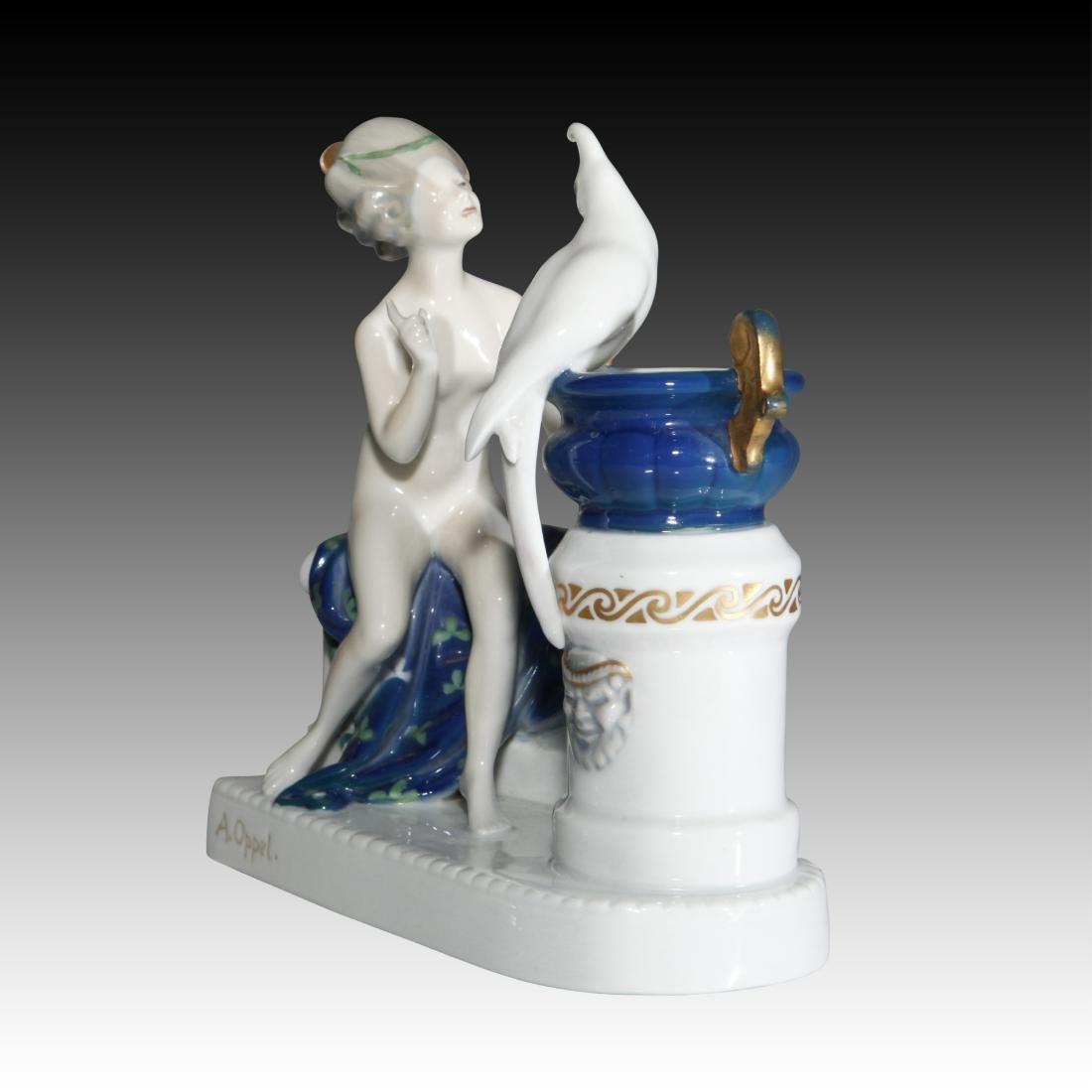 Rosenthal Figurine Nude Venus with Parrot - 2