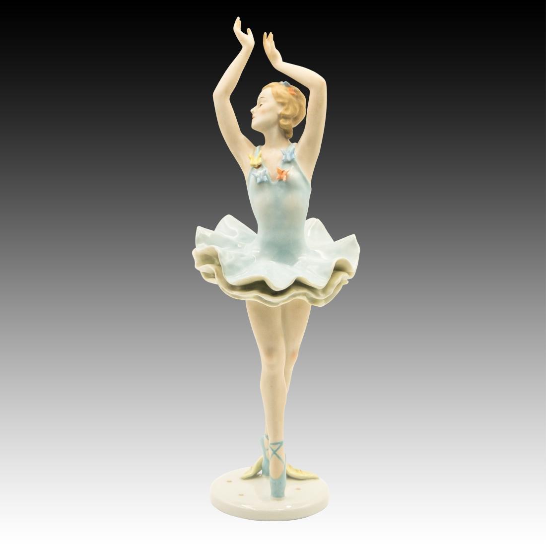 Rosenthal Ballerina with Butterflies Figurine