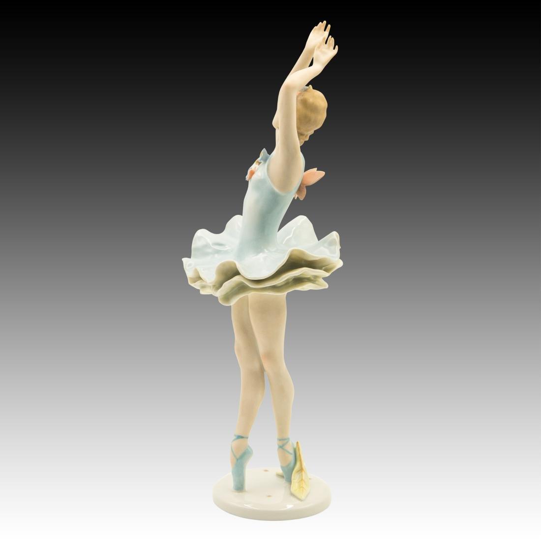 Rosenthal Ballerina with Butterflies Figurine - 2