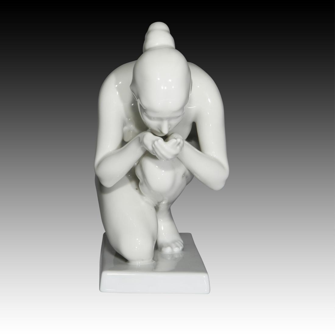 Rosenthal Nude Female Drinking Water Figurine