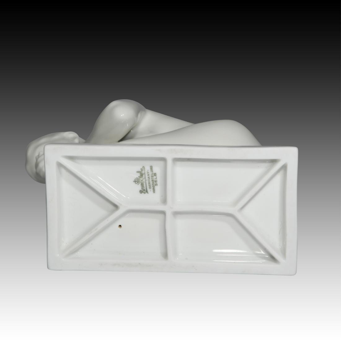 Rosenthal Nude Female Drinking Water Figurine - 4