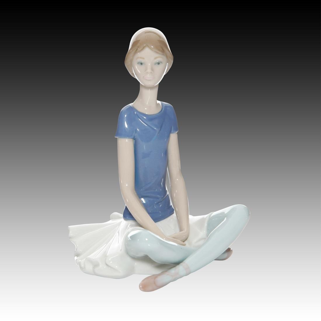 "Lladro ""Beth"" Ballerina Dancer Figurine #1358"