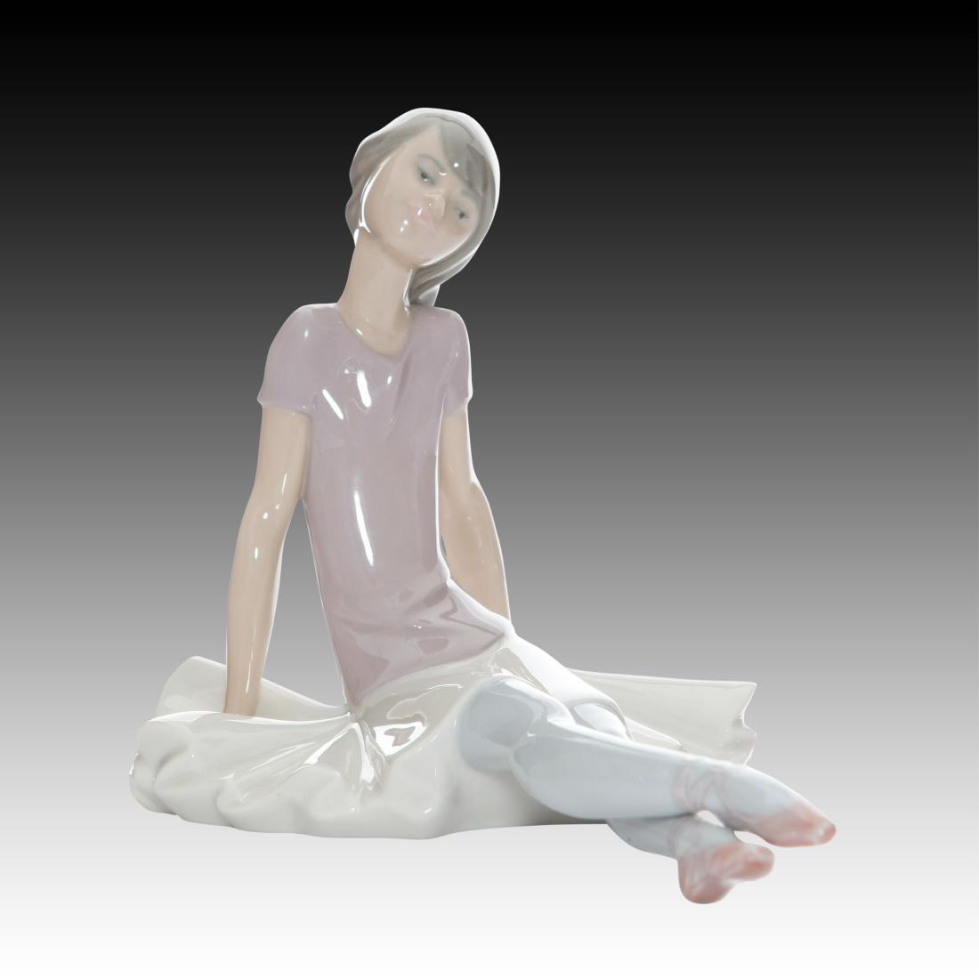 "Lladro Ballerina Dancing Figurine ""Phyllis"" # 1356"