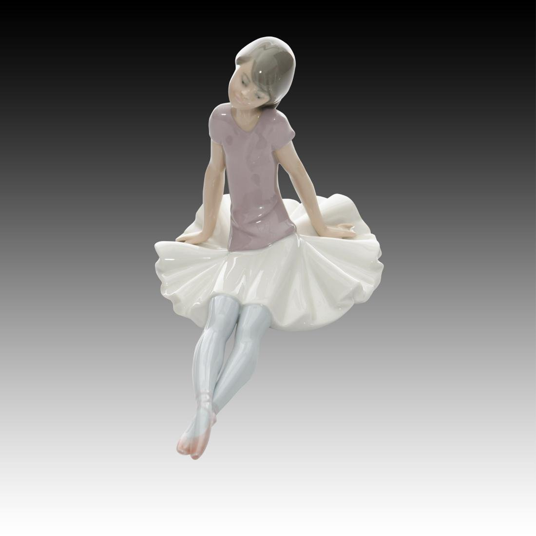 "Lladro Ballerina Dancing Figurine ""Phyllis"" # 1356 - 3"