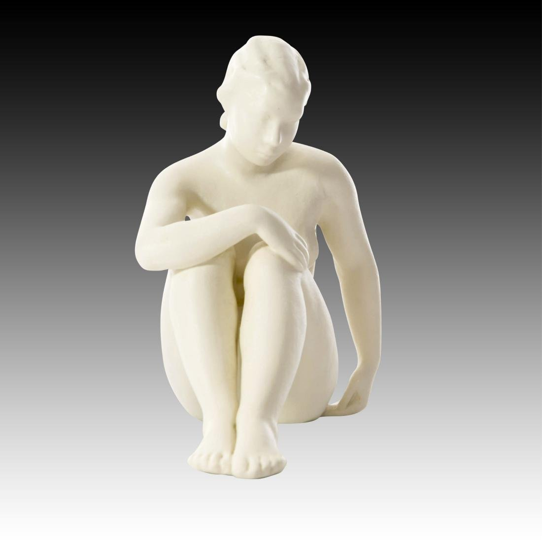 Rosenthal Nude Female Bisque Finish Figurine