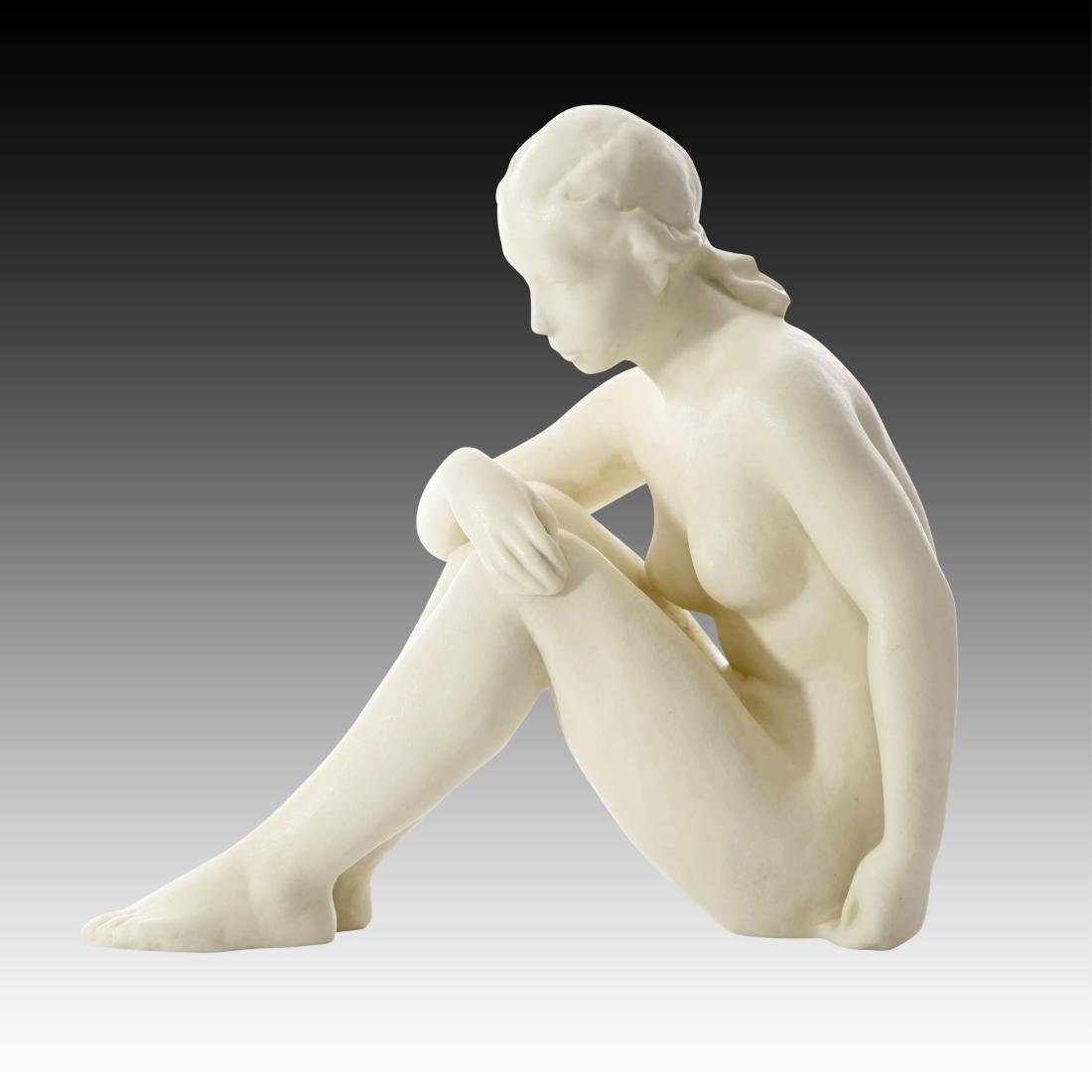 Rosenthal Nude Female Bisque Finish Figurine - 3