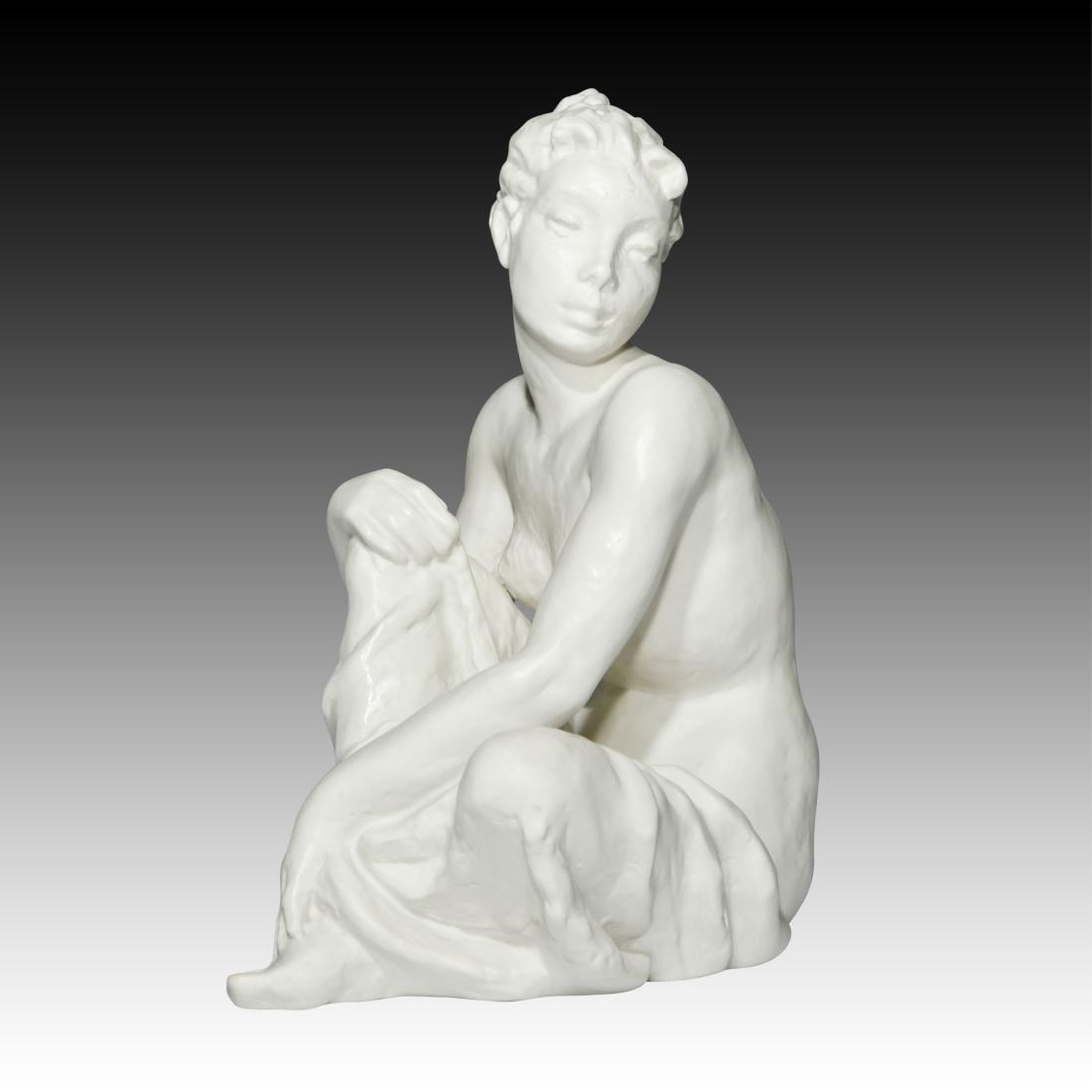 Rosenthal Nude Female Sitting on Floor Figurine