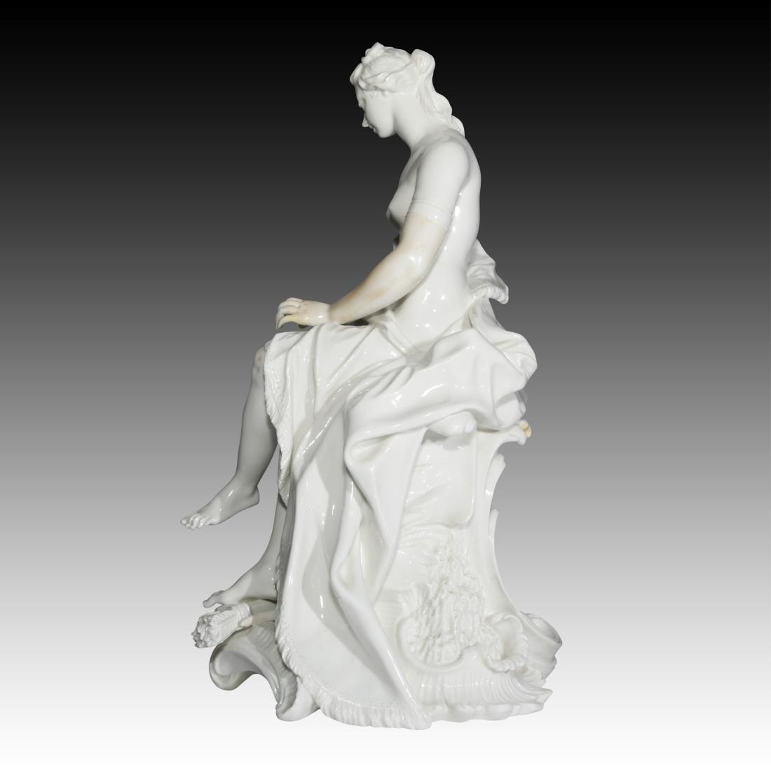 Nymphenburg Nude Female Archer Figurine - 3