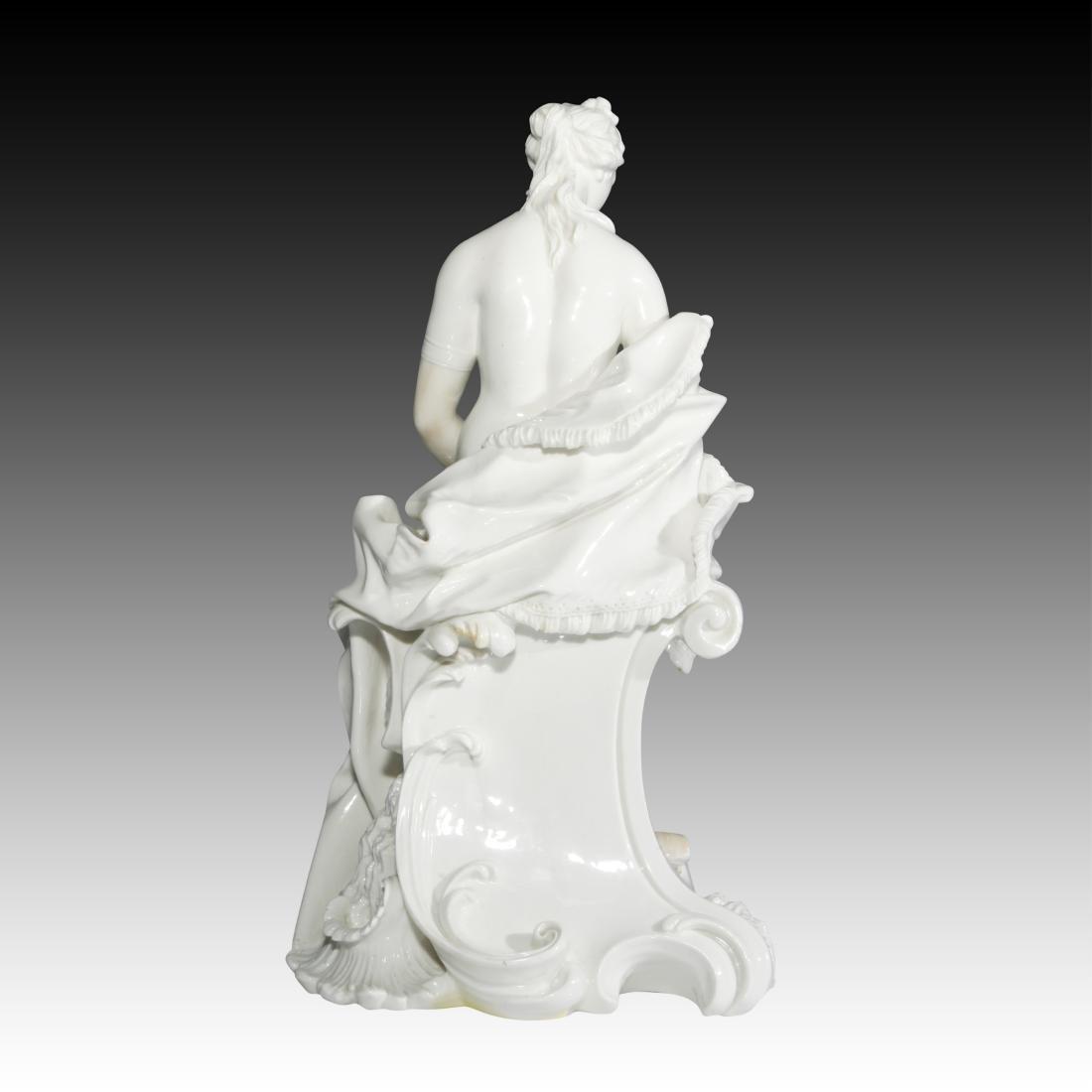 Nymphenburg Nude Female Archer Figurine - 4