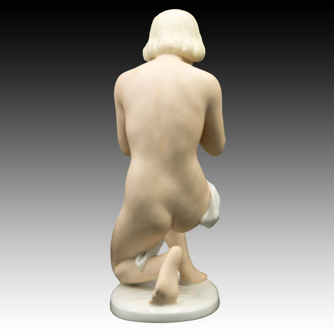 UnterWeiss Bach Young Woman Kneeling Figurine - 3