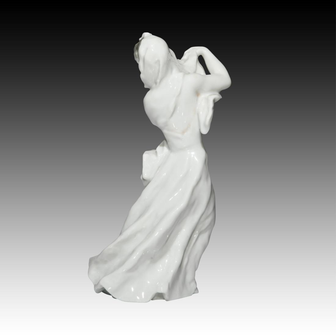 Rosenthal Blanc de Chine Figurine Wearing a Veil - 2