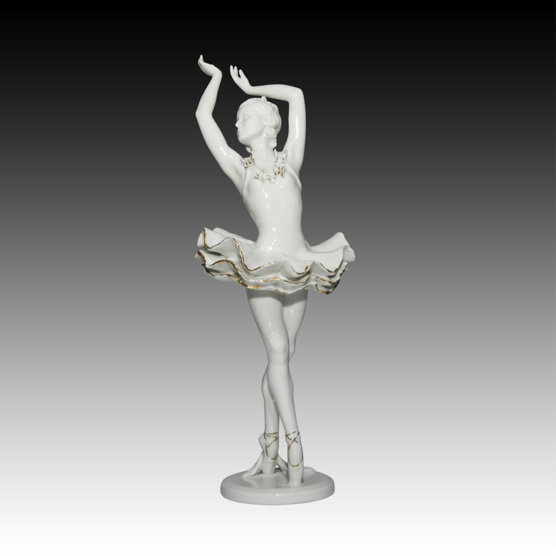 Rosenthal Female Ballerina Figurine - 2
