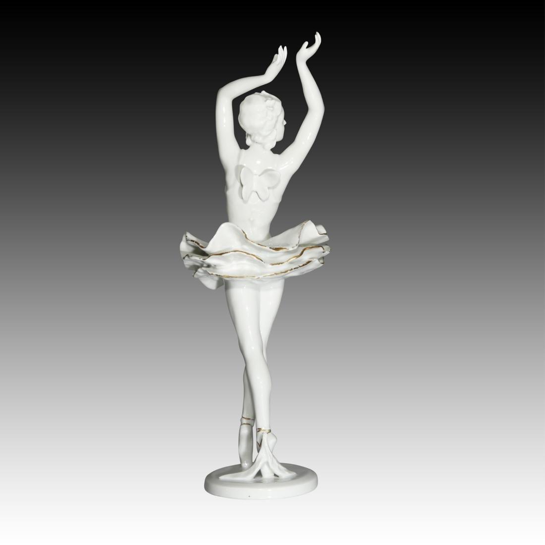 Rosenthal Female Ballerina Figurine - 3