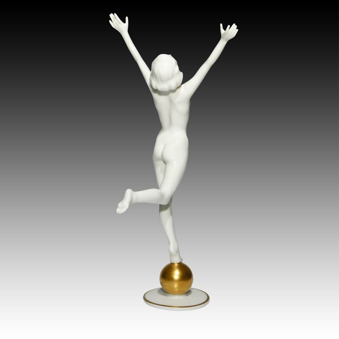 Hutschenreuther Sunchild Art Deco Figurine - 3