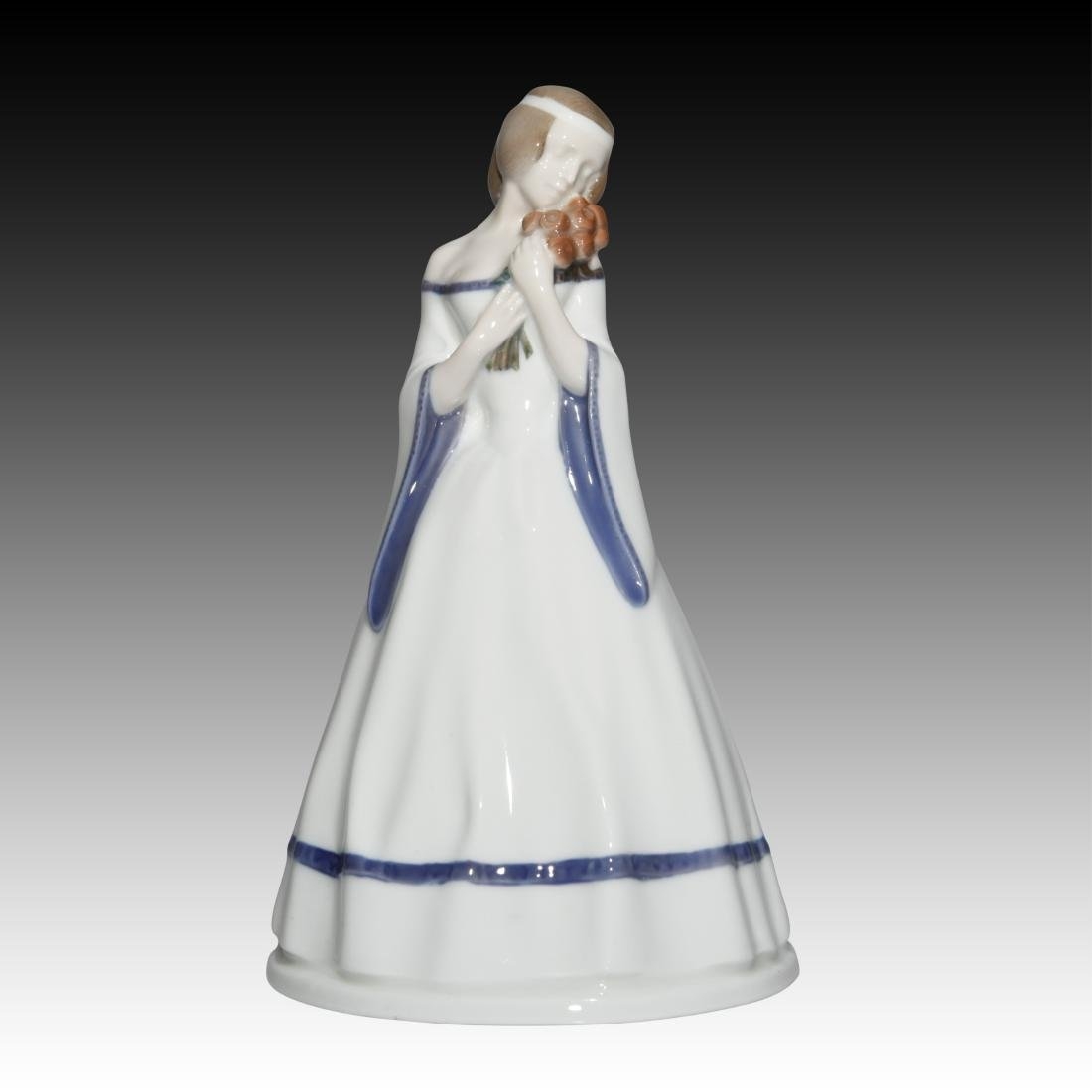 Rosenthal Girl with Flowers Figurine