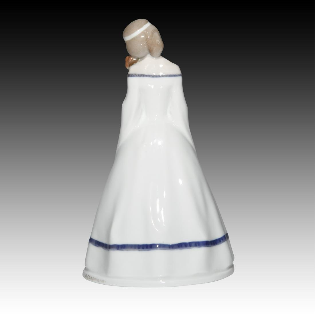 Rosenthal Girl with Flowers Figurine - 2