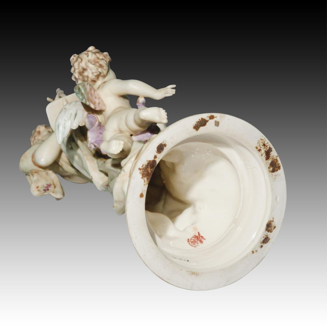 Wein Nude Goddess Figurine with Cherub - 4