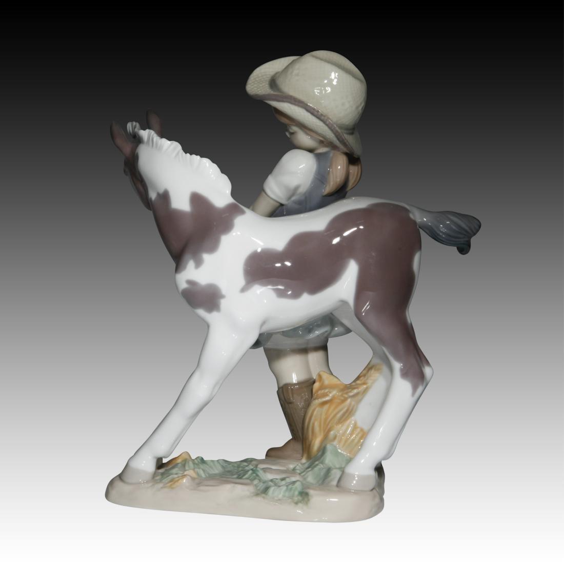 """Lladro """"Cowgirl"""" Figurine 01008636 - 2"""