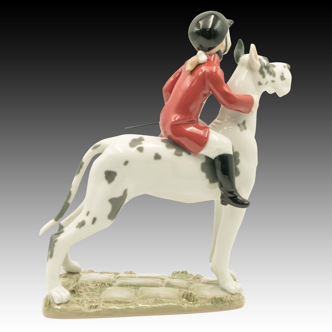 "Lladro ""Giddy Up Doggy"" Figurine 01008523 - 3"