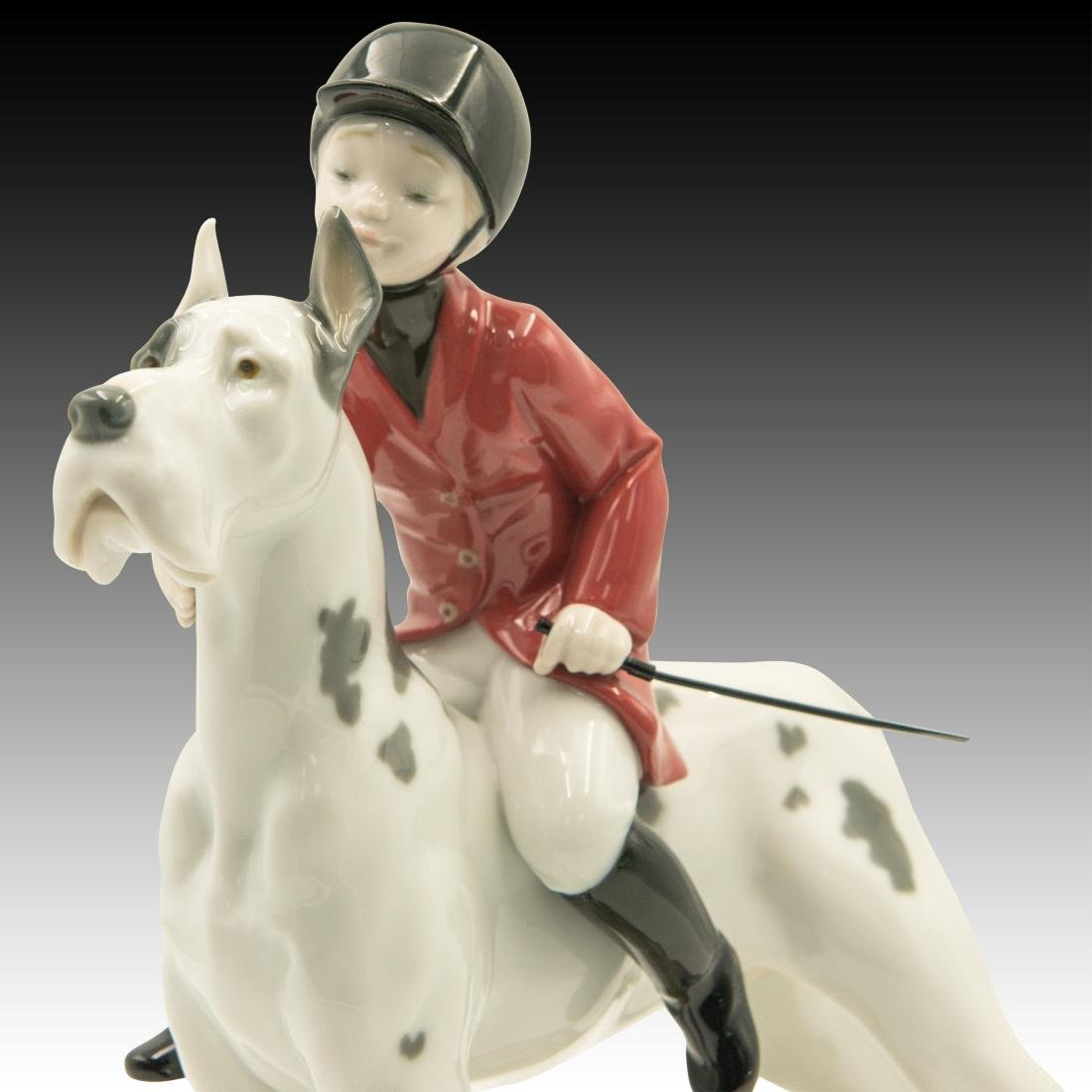 "Lladro ""Giddy Up Doggy"" Figurine 01008523 - 5"