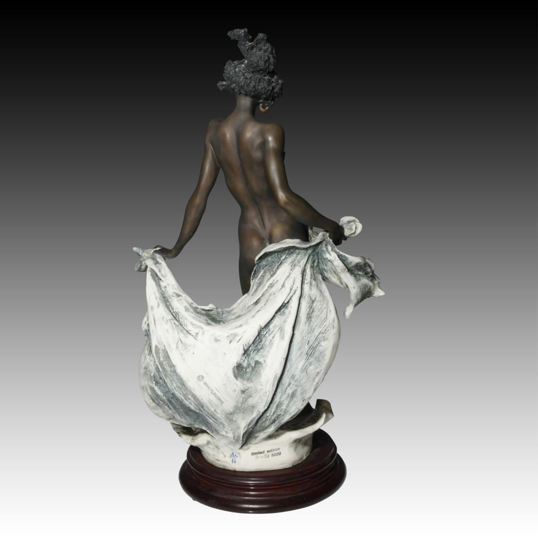 Giuseppe Armani Venere Nera Ebony Woman in Shell - 2