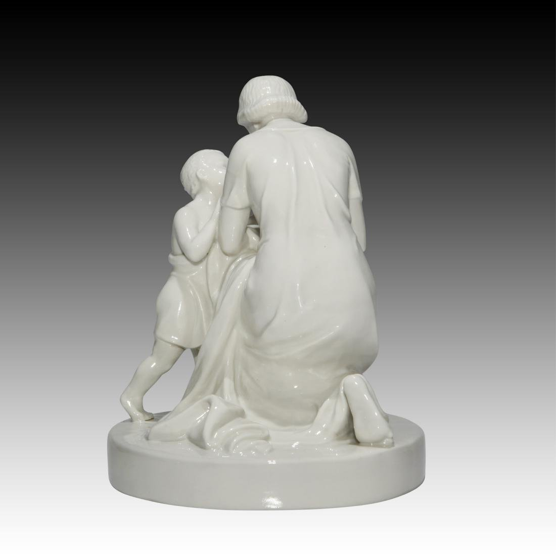 Schwarzburger Young Woman and Child Figurine - 2
