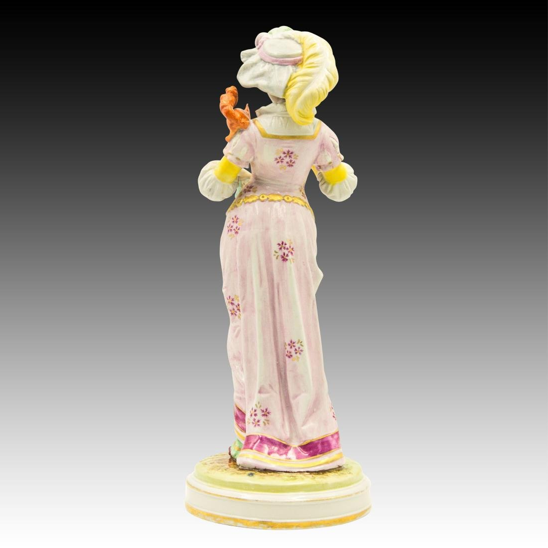 Woman with a Squirrel on her Shoulder Figurine - 3