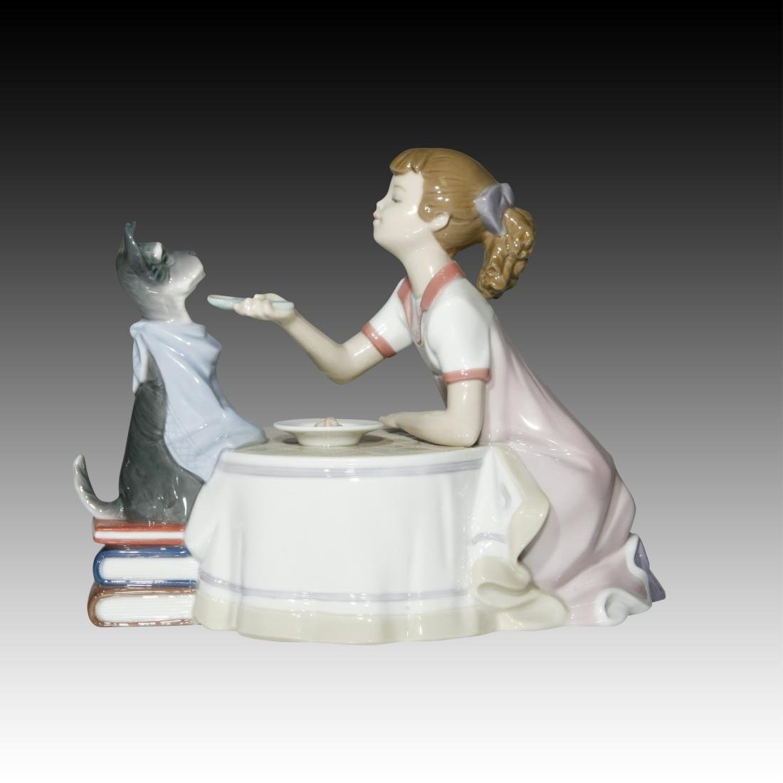 "Lladro ""Tea Time"" # 9197 Figurine - 2"