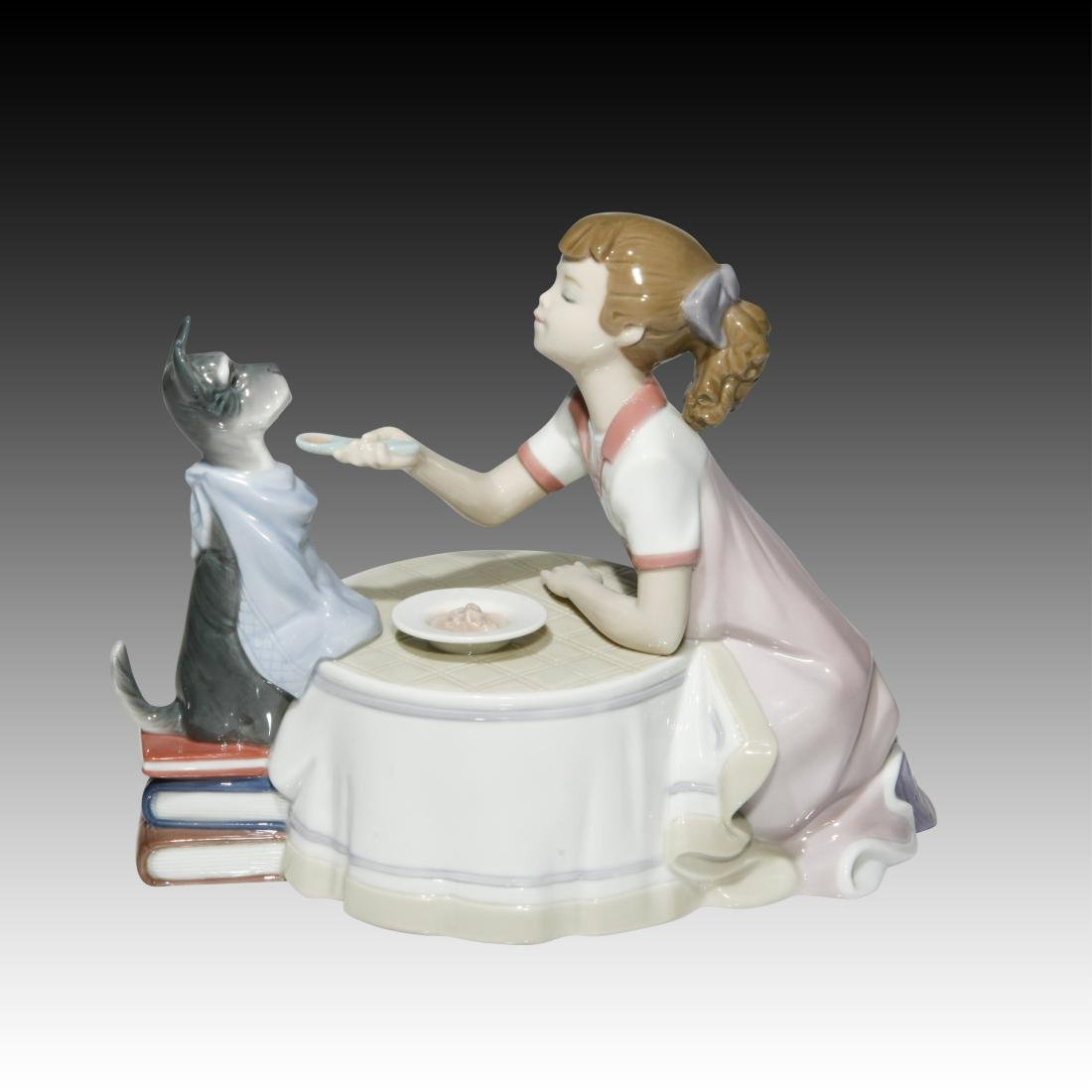 "Lladro ""Tea Time"" # 9197 Figurine - 3"