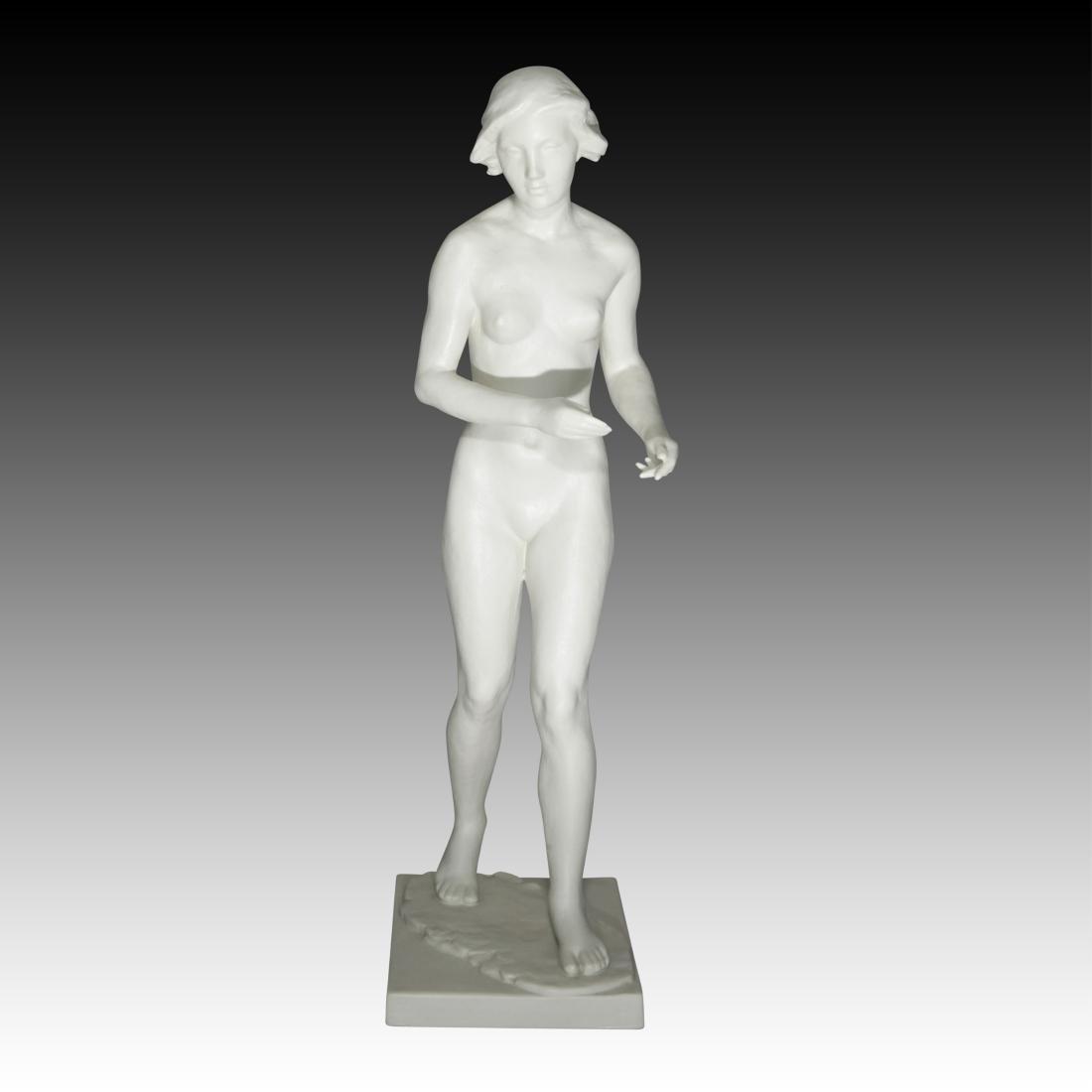 Rosenthal Nude Female Figure Walking Figurine