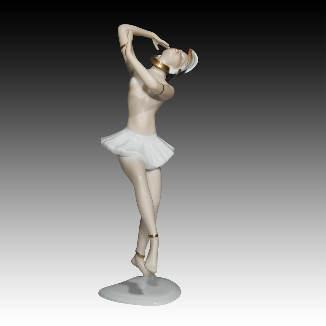 Wallendorf Semi-nude Dancer Figurine