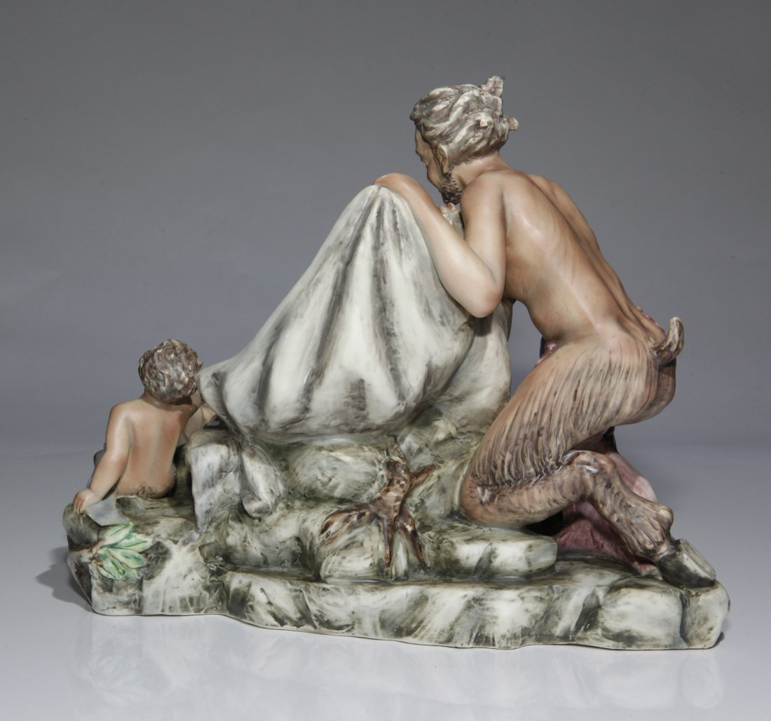 Murmac Italy Satyrs Guarding the Princess Figurine - 3