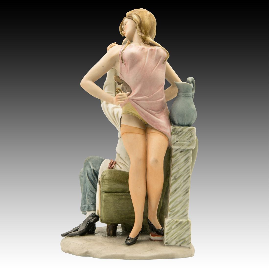 "Capodimonte ""Doctor's Delight"" Comical Figurine - 4"